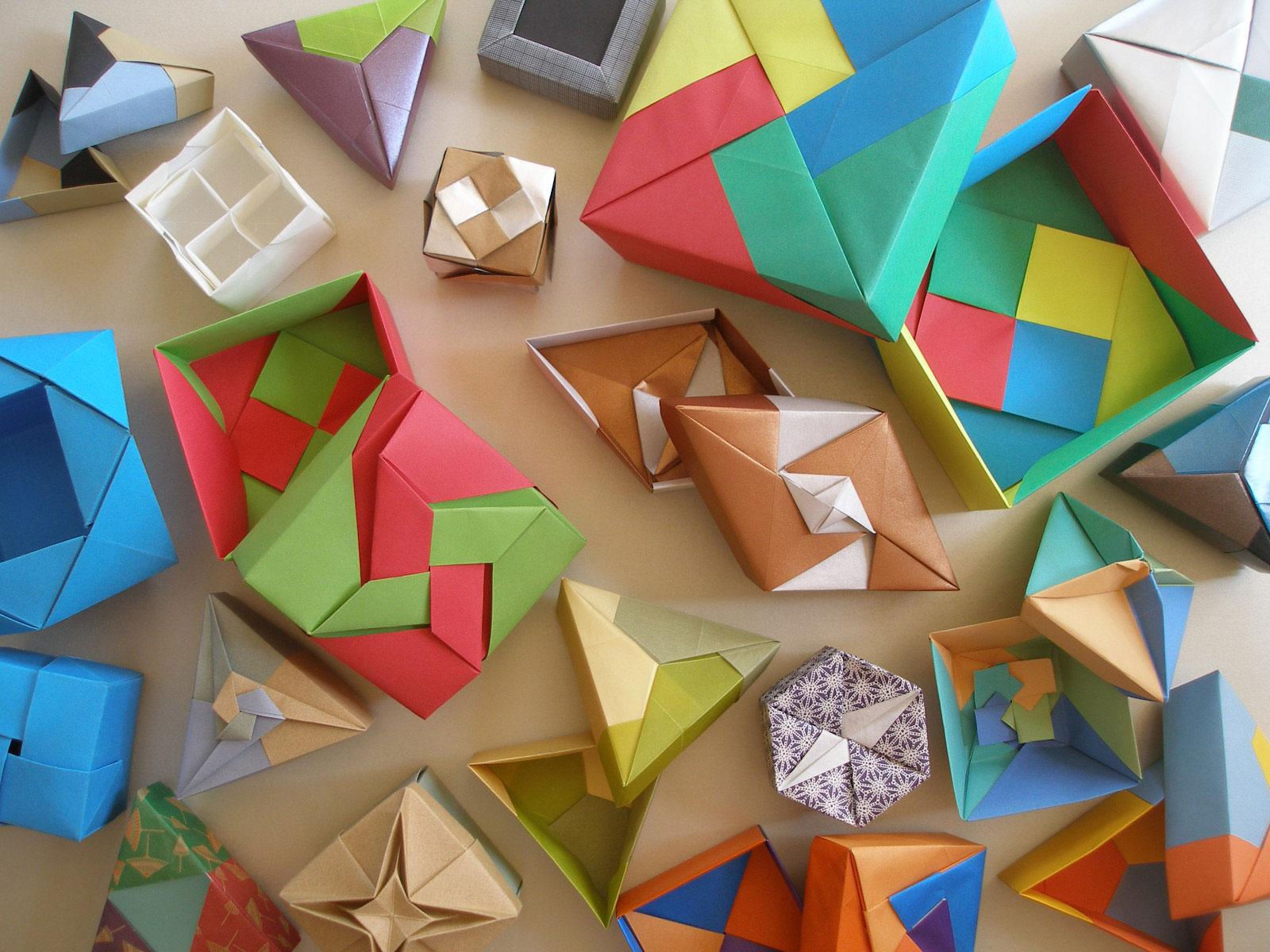 clases de origami | cajas, juegos, animales, flores y cuerpos ...